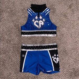 cheer athletics practice wear